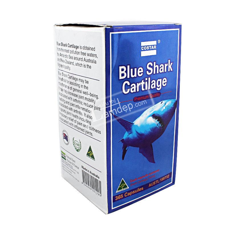 Viên Uống Bổ Khớp Sụn Vi Cá Mập Costar Blue Shark Cartilage ( 750 mg x 365 Viên)
