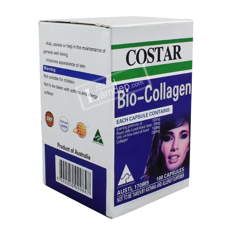 Bio Collagen Costar Úc 100 Viên