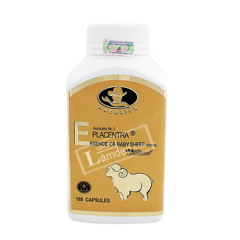 Nhau Thai Cừu Placentra Essence Of Baby Sheep Auhealth 12000mg