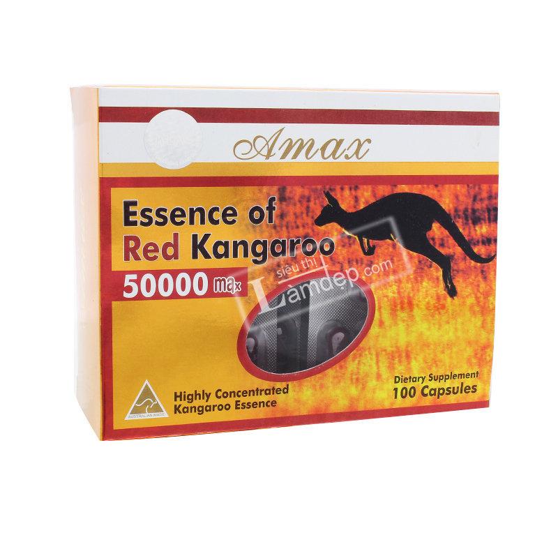 Amax Essence Of Red Kangaroo 50000 Max – Thuốc Tăng Cường Sinh Lý Cho Nam Giới 100viên