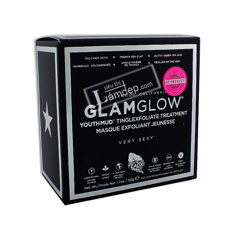 Mặt Nạ Bùn GLAMGLOW Youth-Mud Tinglexfoliate Treatmen