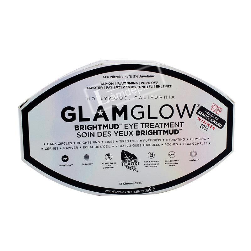 Glamglow Brightmud Eye Treatment - Trị Bọng Mắt, Nếp Nhăn Và Quầng Thâm Quanh Mắt