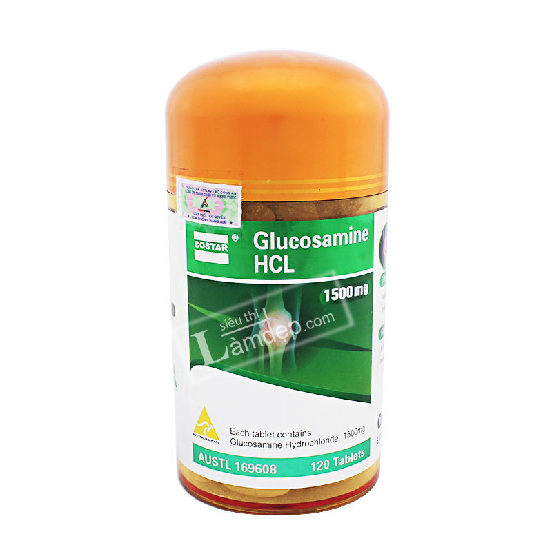 Viên Uống Bổ Khớp Glucosamine 1500mg HCL Costar