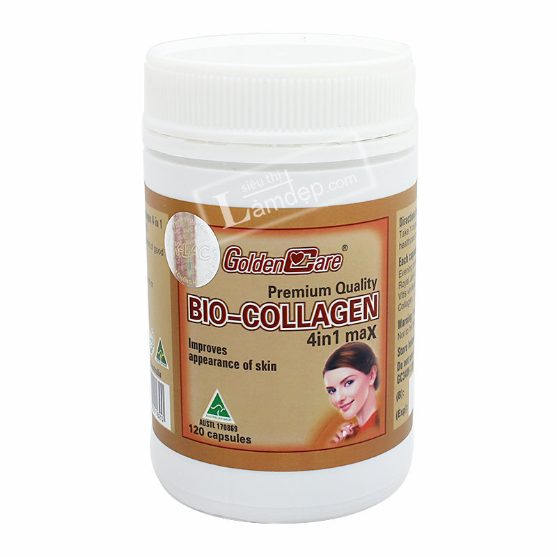 GoldenCare Bio Collagen 4 In 1 120 Viên
