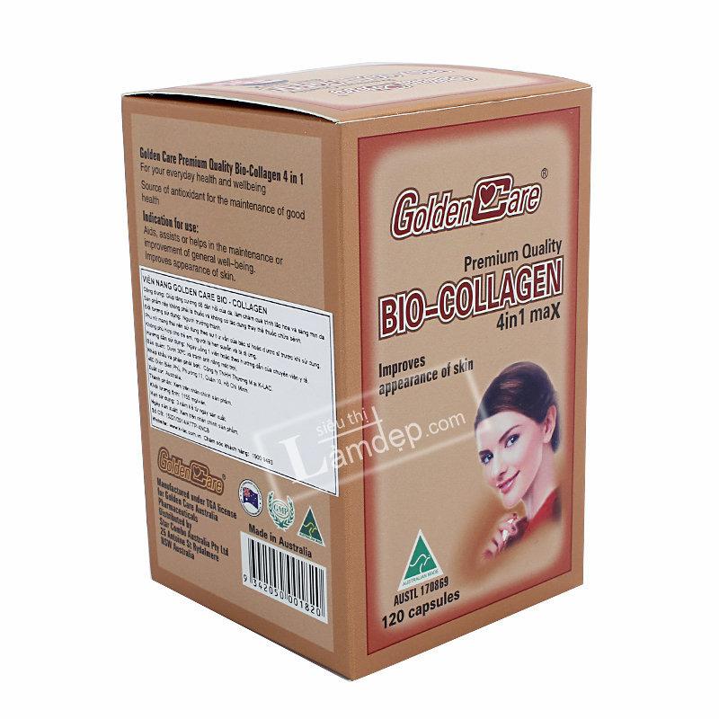 Golden Care Bio Collagen 4 In 1 120 Viên