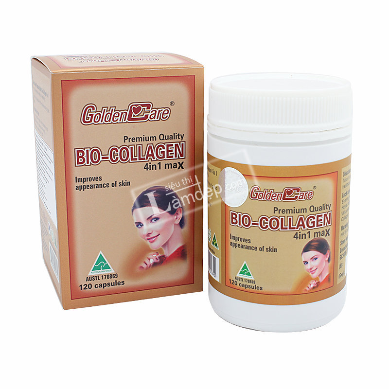 GoldenCare Bio Collagen 4 In 1 120 Viên