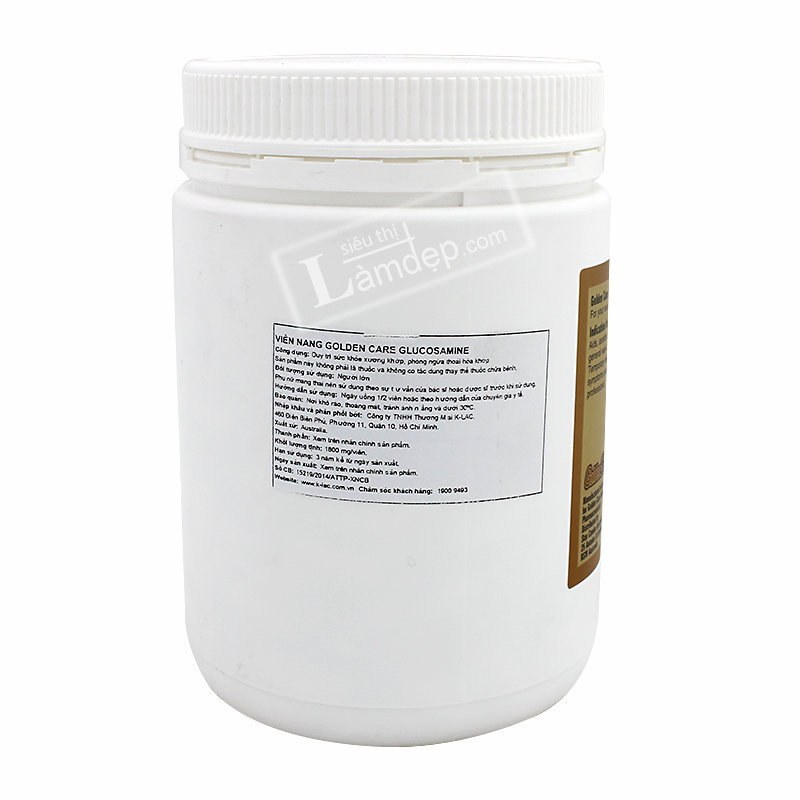 Viên Bổ Khớp Golden Care Glucosamine 1500mg x 365 viên