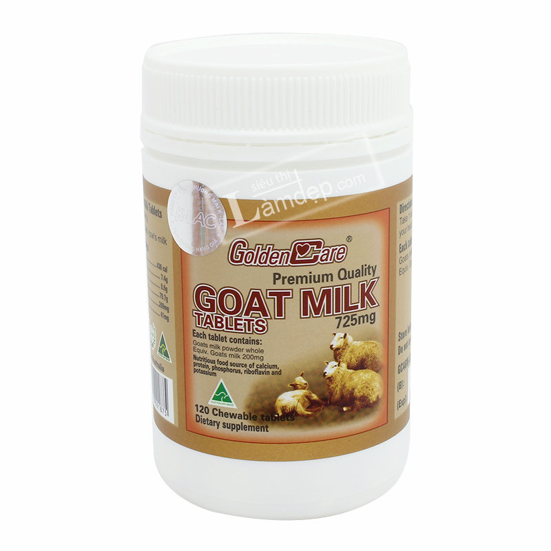 Golden Care Goat Milk 725mg x 120 viên