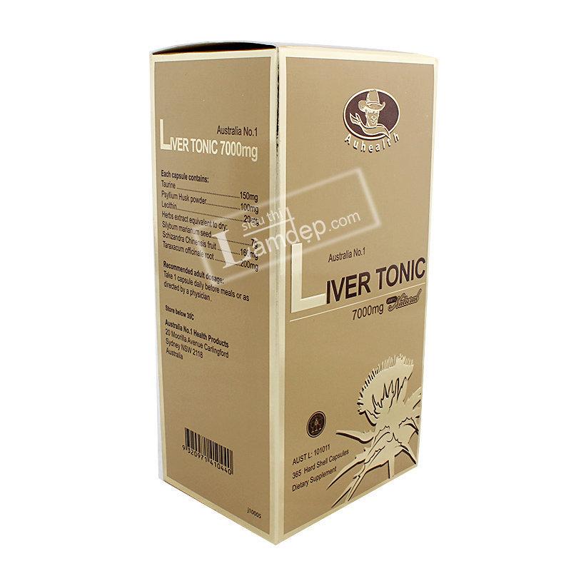 Viên Uống Bổ Gan Auhealth Liver Tonic (7000mg x 365 Viên)