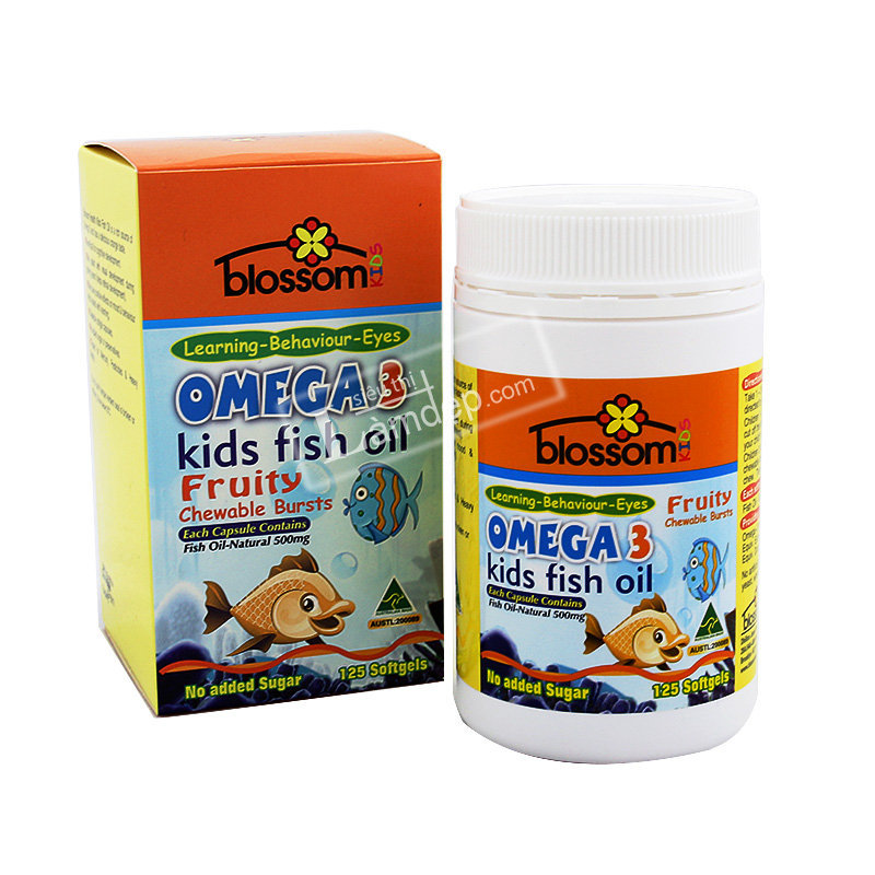 Dầu Cá Trẻ Em ( Kidss Fish Oil ) Omega3 Blossom