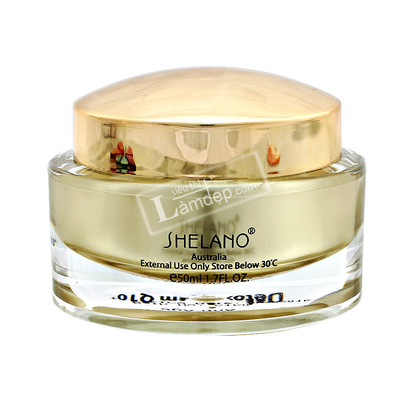 Kem Trẻ Hóa Da Shelano Anti Age Detox Cream Q10+