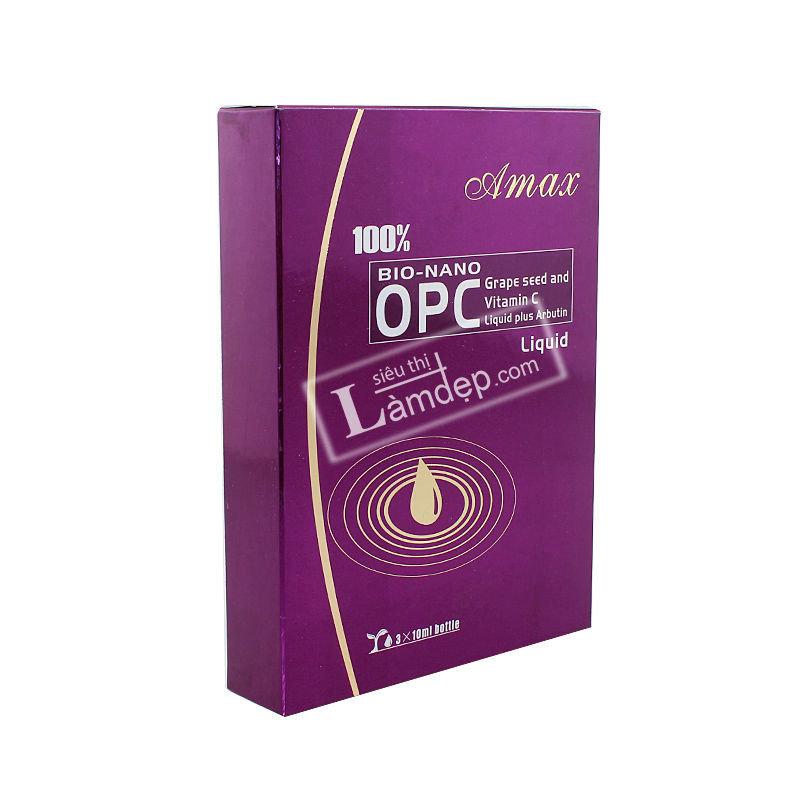 Tinh Chất Hạt Nho Và Vitamin C 100% Amax Bio - Nano OPC