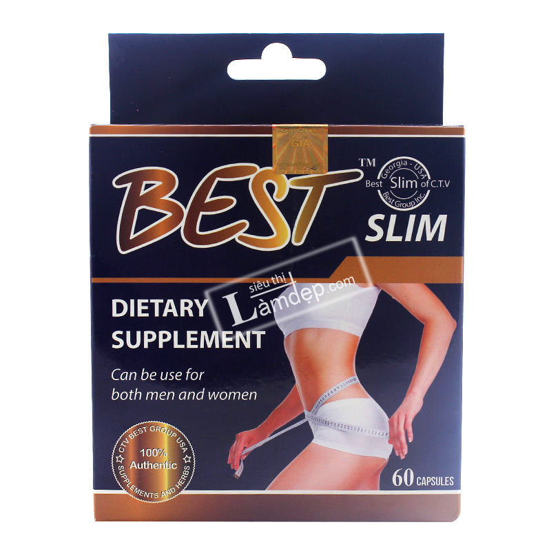 BEST SLIM USA 60 Viên