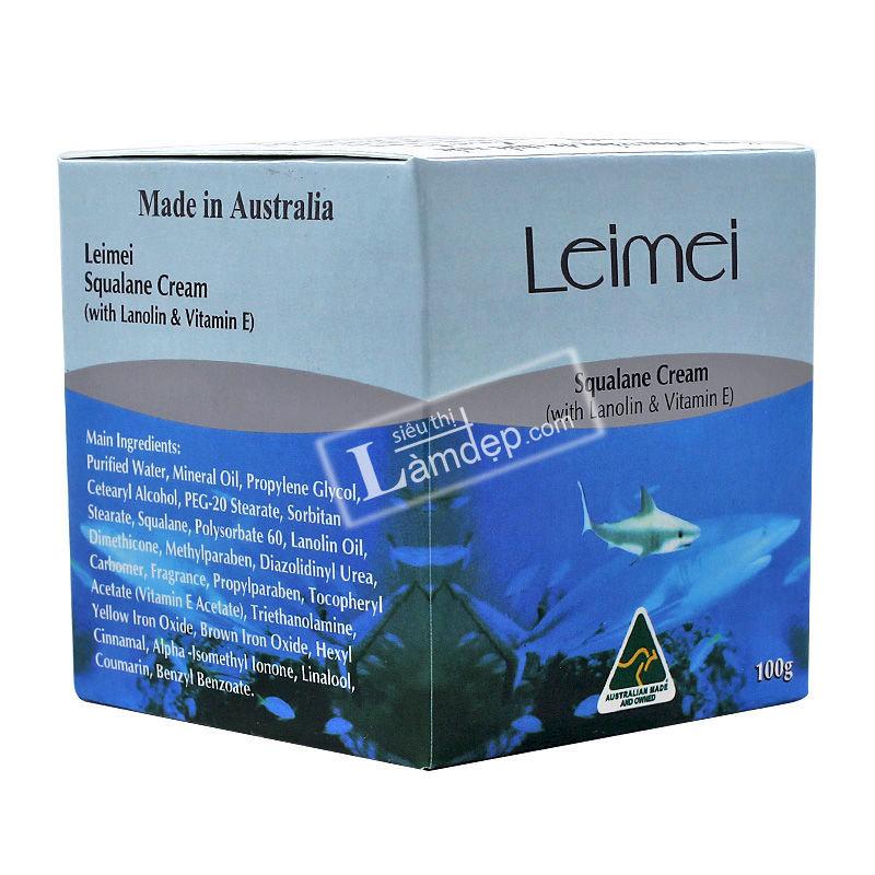Kem Dưỡng Trắng Da Chiết Xuất Dầu Gan Cá Mập Squalane Cream – Nature Care Leimei