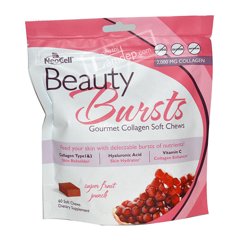Thạch Neocell Beauty Bursts Gourmet Collagen Soft Chews
