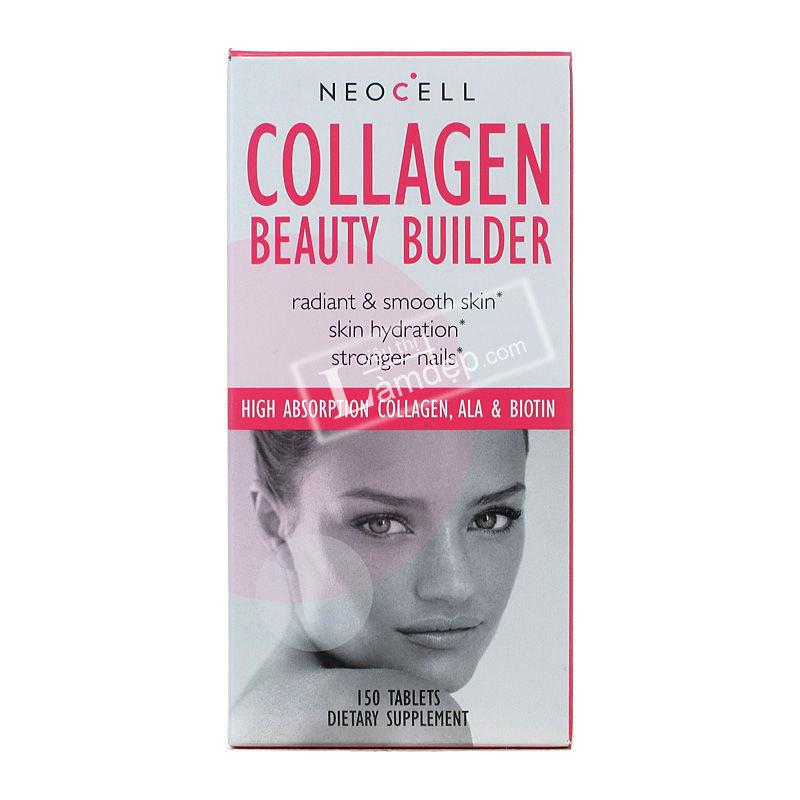 Viên Uống Bổ Sung Collagen - Neocell Collagen Beauty Builder (150 Viên)