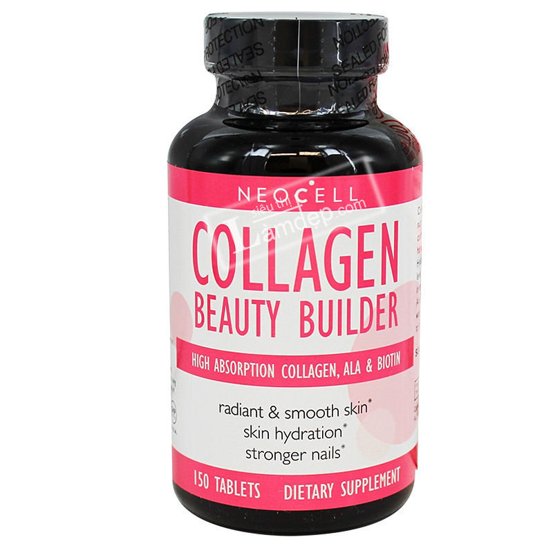 Viên Uống Bổ Sung Collagen - Neocell Collagen Beauty Builder (150 Viên)