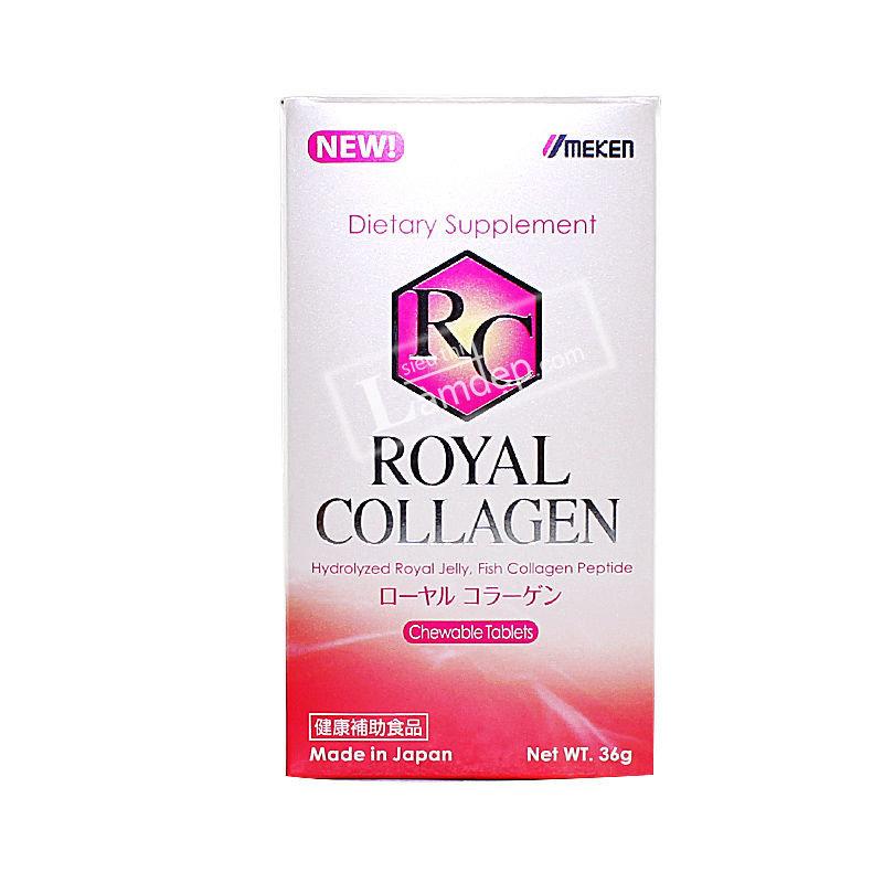 Royal Collagen Umeken - Viên Nhai Làm Đẹp Da