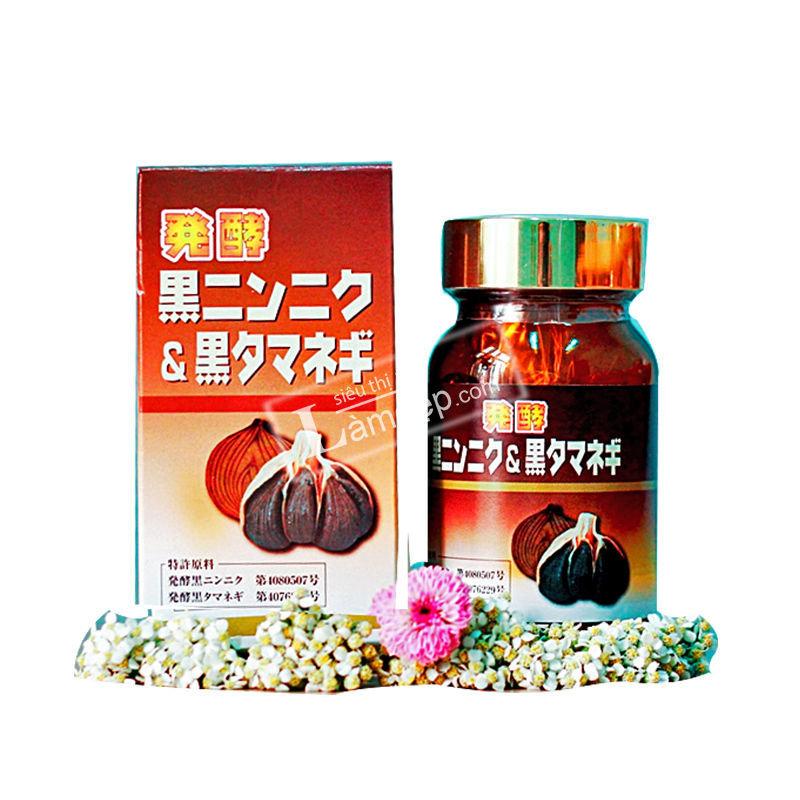 Viên Uống Tỏi Đen Và Hành Đen - Black Granic & Onion Oil