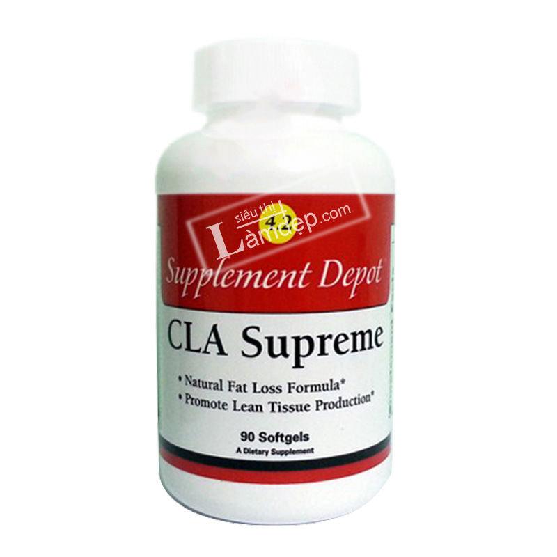 CLA Supreme – Thảo Dược Giúp Tan Mỡ Bụng, Mỡ Đùi Loại Mạnh