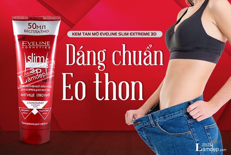 Kem Tan Mỡ Eveline Slim Extreme 3D - SieuThiLamDep.com