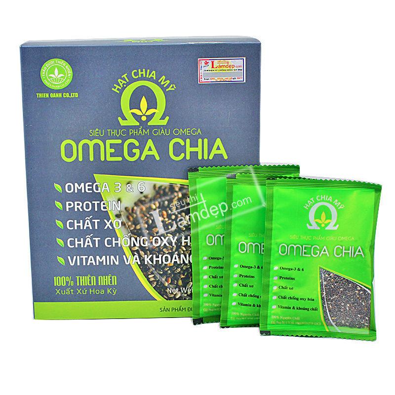 Hạt Chia Mỹ Omega Chia ( 33 gói x 15gr)