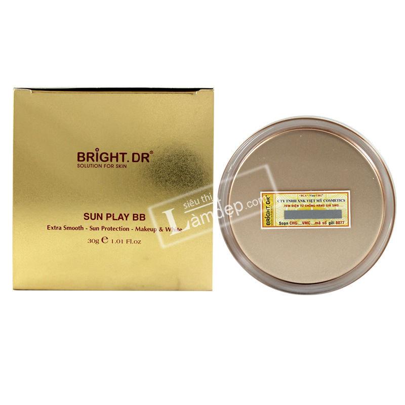 Kem Chống Nắng Trang Điểm Trắng Da Sunplay BB Cream Bright Doctors