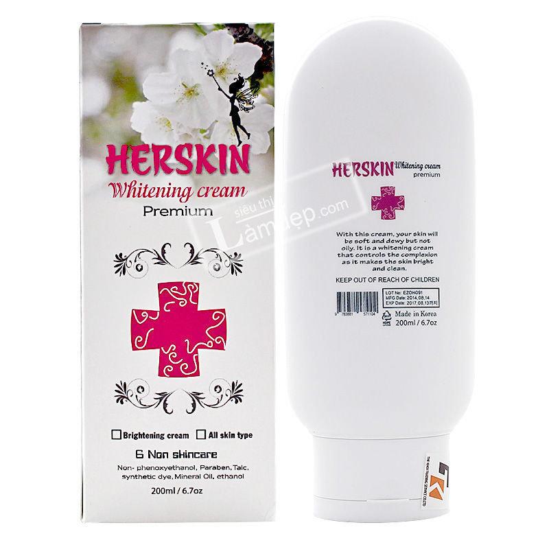 Kem Dưỡng Trắng Da Mặt Và Da Toàn Thân Herskin Whitening Cream