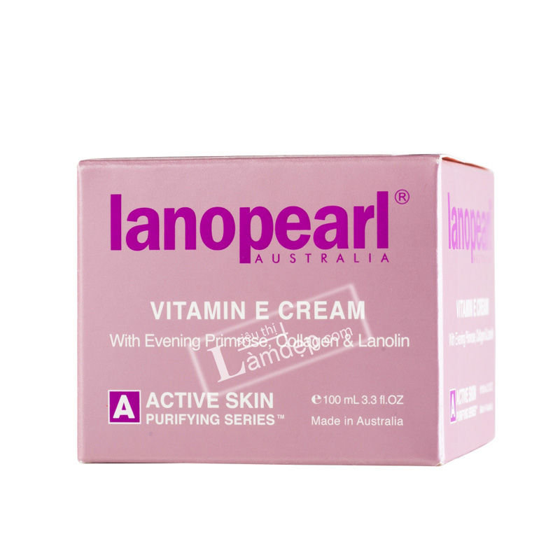 Kem Trẻ Hóa Và Săn Chắc Da Vitamin E Và EPO Lanopearl