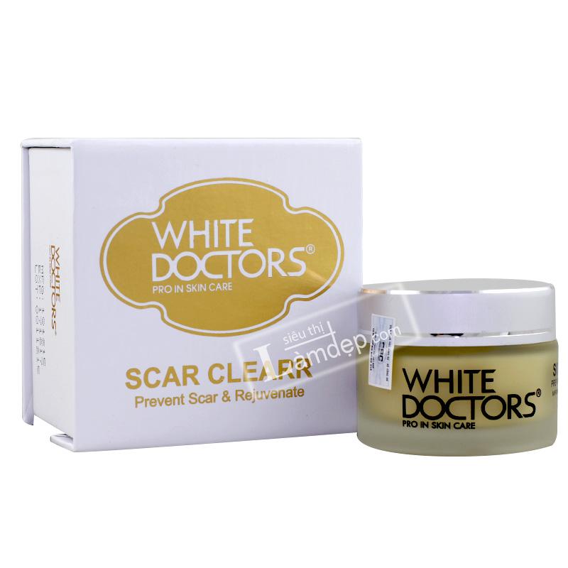 Kem Trị Sẹo Rỗ Làm Mịn Da White Doctors - Scar Clearr