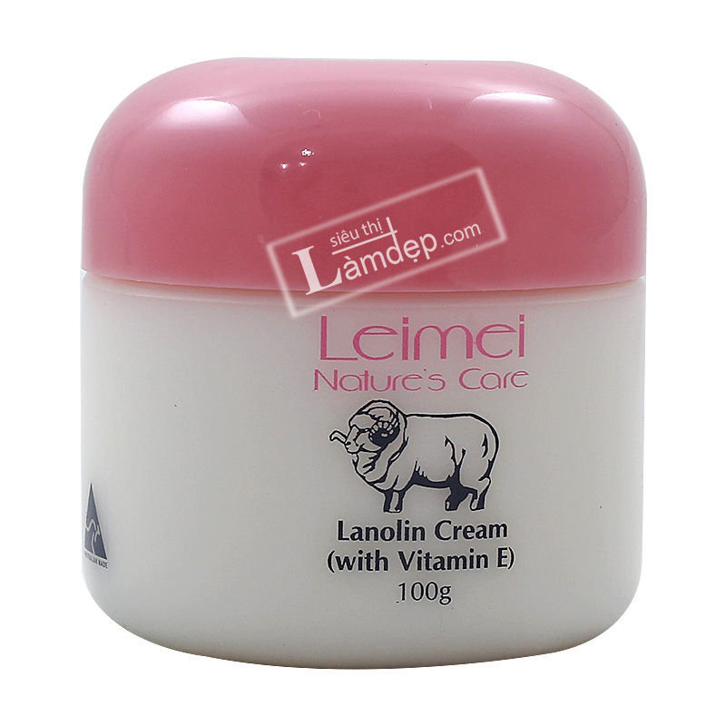Kem Dưỡng Trắng Da Tinh Chất Mỡ Cừu Và Vitamin E – Natures Care Leimei