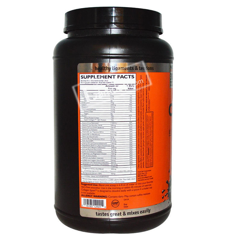 Neocell Collagen Sport Ultimate Recovery Complex Belgian Chocolate