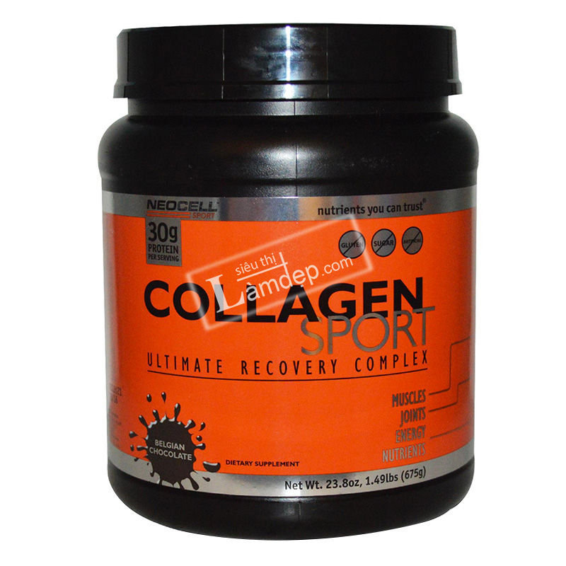 Neocell Collagen Sport Ultimate Recovery Complex Belgian Chocolate (675g)