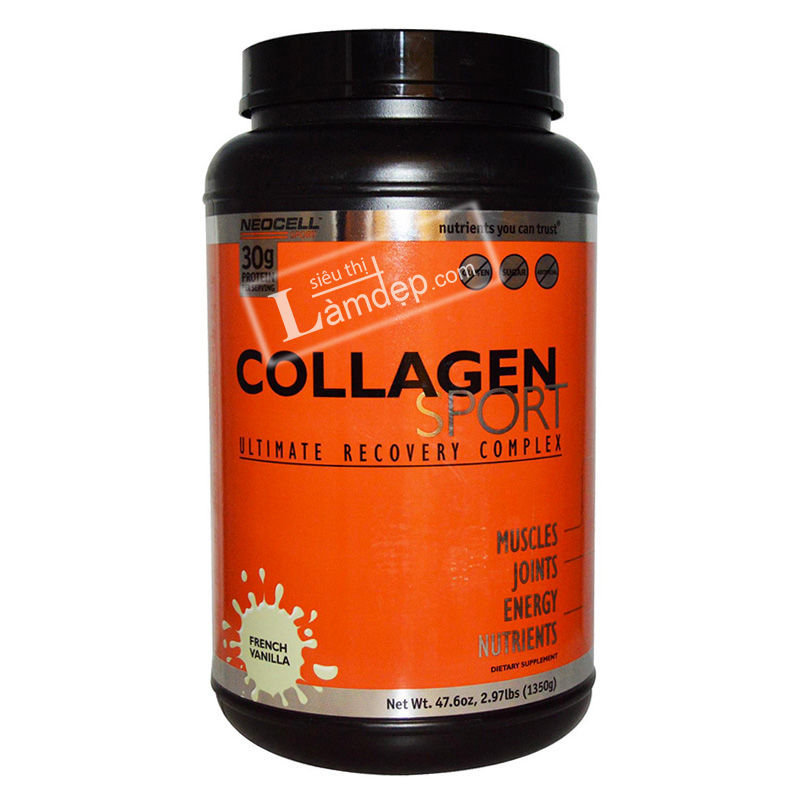 Neocell Collagen Sport Ultimate Recovery Complex French Vanilla 1350g