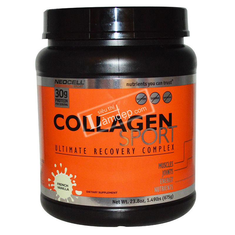 Neocell Collagen Sport Ultimate Recovery Complex French Vanilla 675g