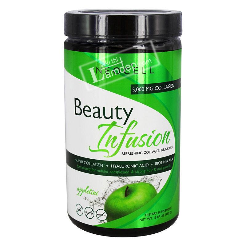 Neocell Collagen Beauty Infusion Hương Táo
