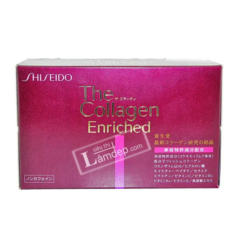Nước Uống The Collagen Enriched Shiseido Nhật Bản