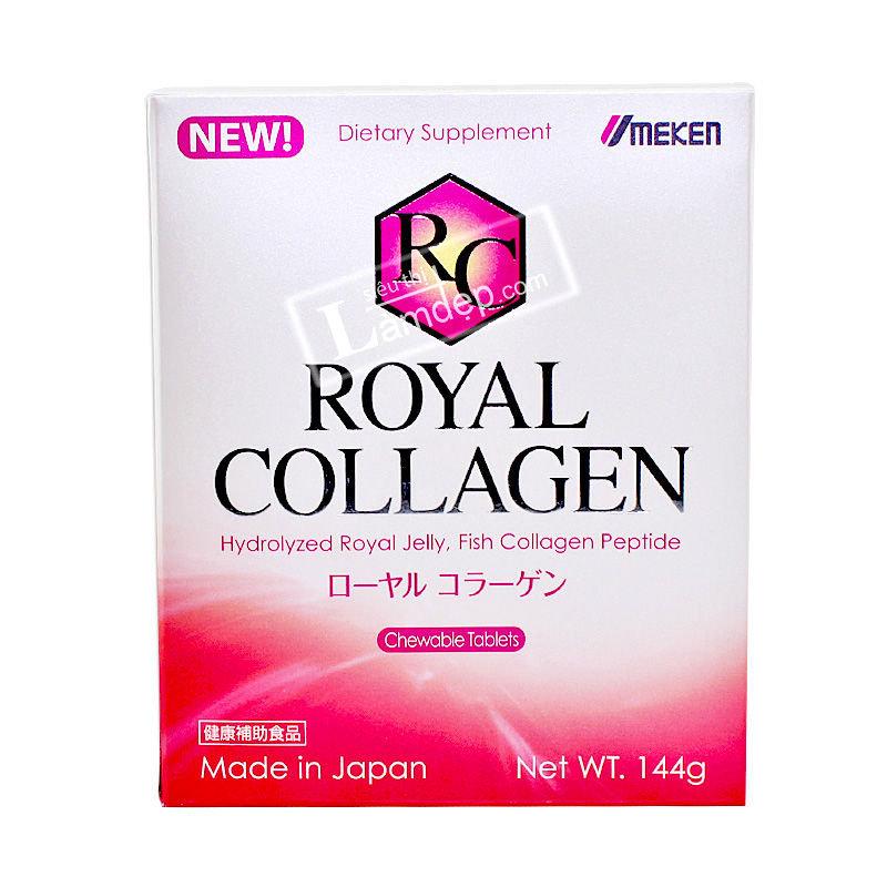 Royal Collagen Umeken - Viên Uống Collagen Làm Đẹp Da (180 Viên)