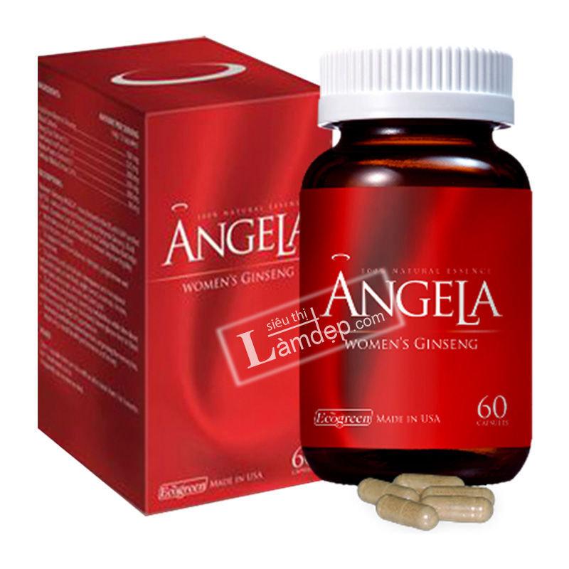 Sâm Angela - Sức Khỏe, Sắc Đẹp Và Sinh Lý Nữ