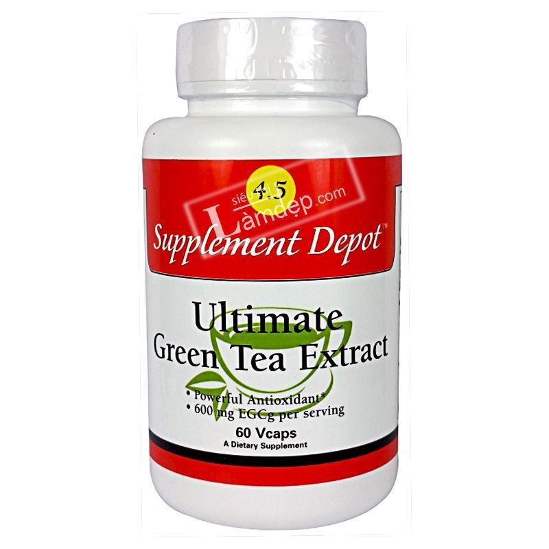 Số 004.5 - TPCN Giảm Cân Tinh Chất Trà Xanh Thượng Hạng Utimate Green Tea Extract