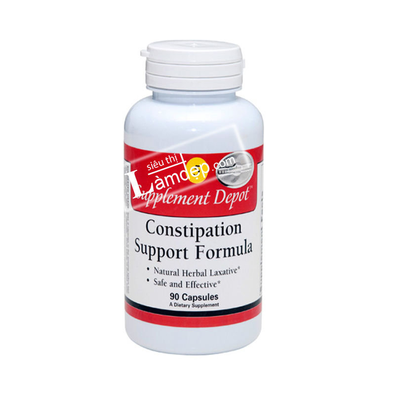 Số 005 - TPCN Chống Táo Bón Constipation Support Formula - Supplement Depot