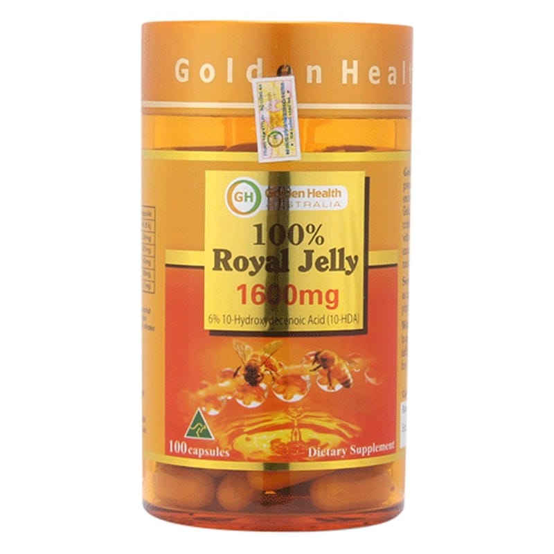 Sữa Ong Chúa Golden Health 1600mg 100 Viên