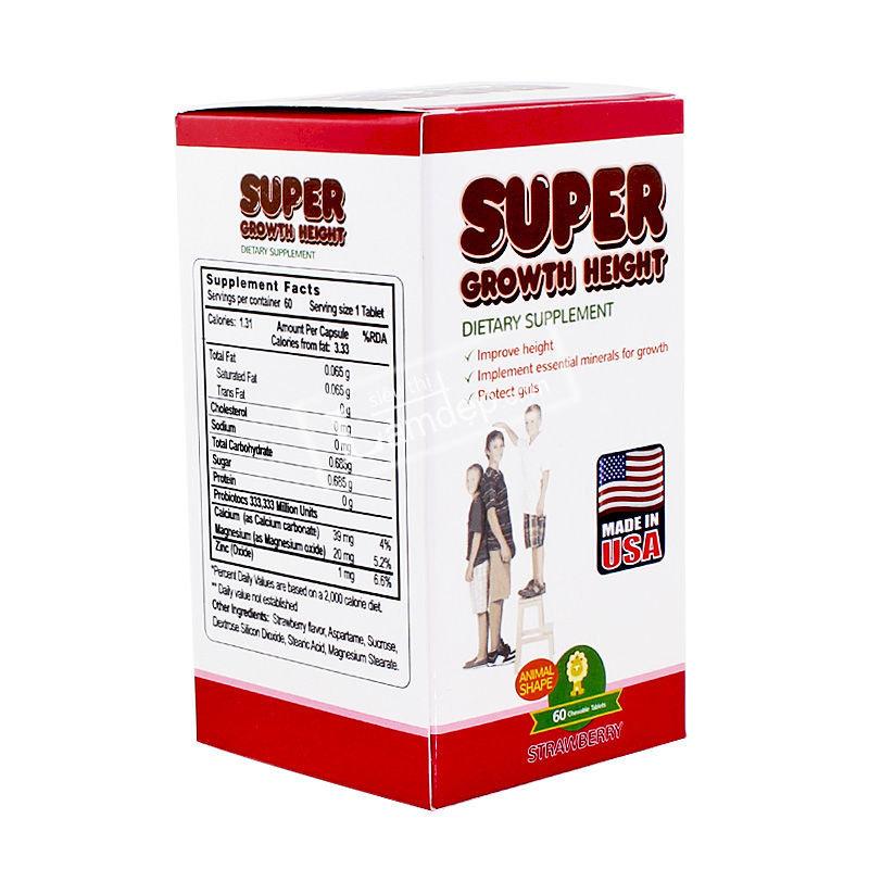 Super Growth Height - Viên Uống Tăng Chiều Cao Tối Ưu Từ Mỹ