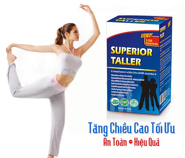 Superior Taller – TPCN Tăng Chiều Cao Vượt Trội Từ Thiên Nhiên