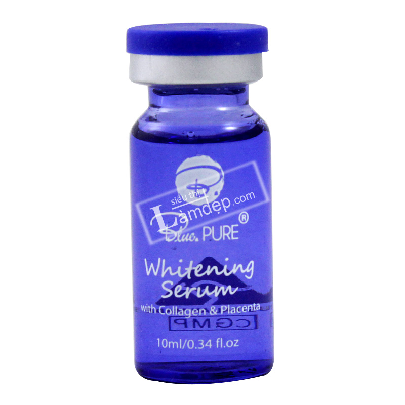 Serum Dưỡng Trắng, Tái Tạo Da Blue Pure Whitening (Tinh Chất Nhau Thai Cừu Kết Hợp Collagen)
