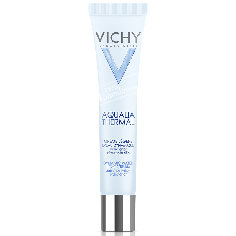 Kem Dưỡng Ẩm 24H Dạng Gel Vichy Aqualia Thermal Dynamic Water Light Cream 30ml