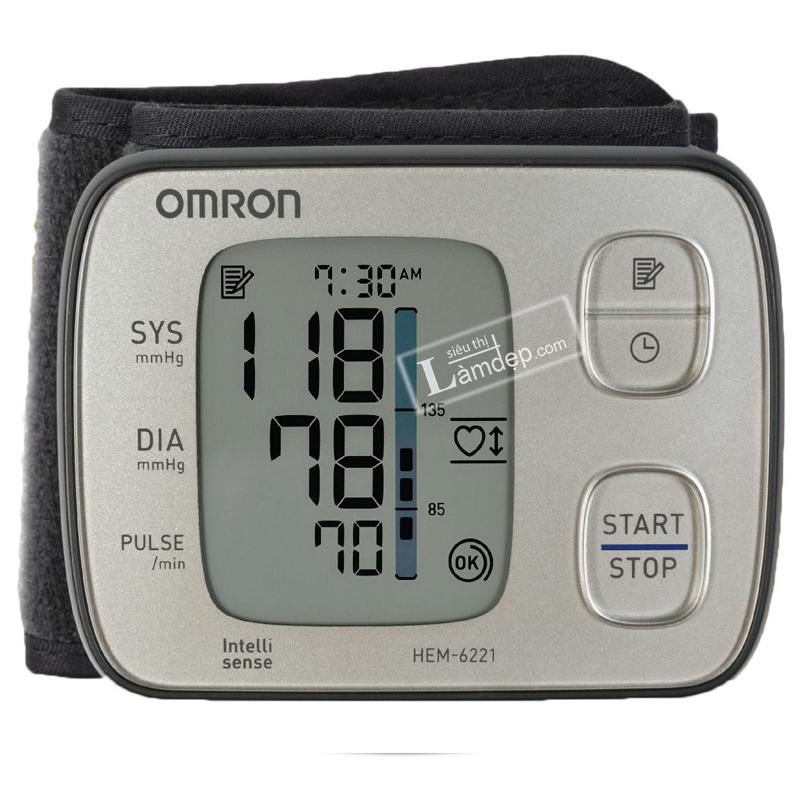 Máy đo huyết áp Omron HEM 6121 (Đo Cổ Tay)