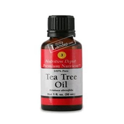 Số 003 Dung Dịch Khử Trùng, Sát Khuẩn Tea Tree Oil 100% Pure - Nutrition Depot