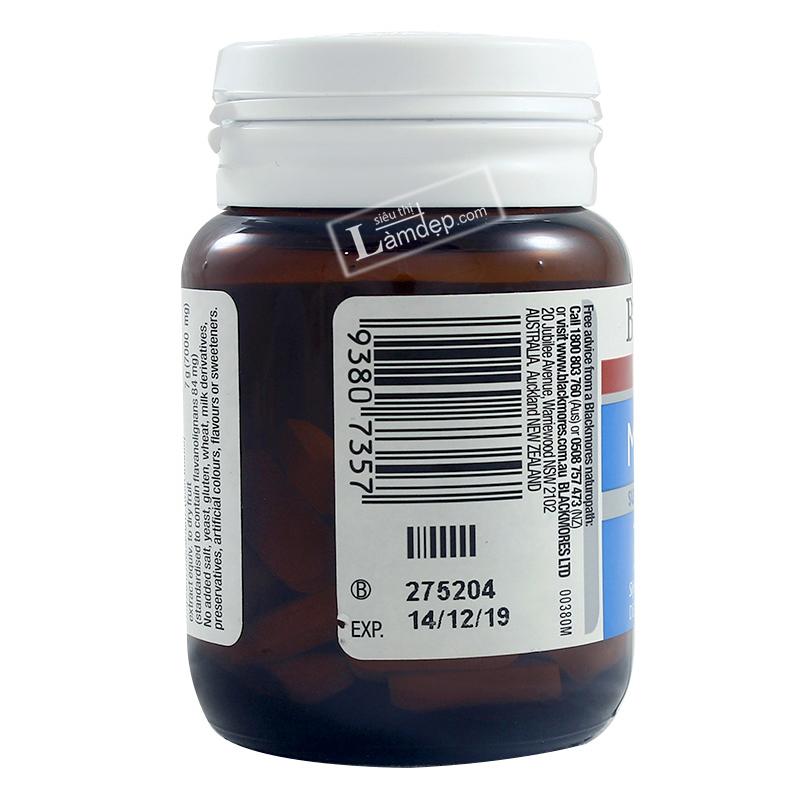 Viên Uống Bổ Gan Blackmores Liver Health Milk Thistle