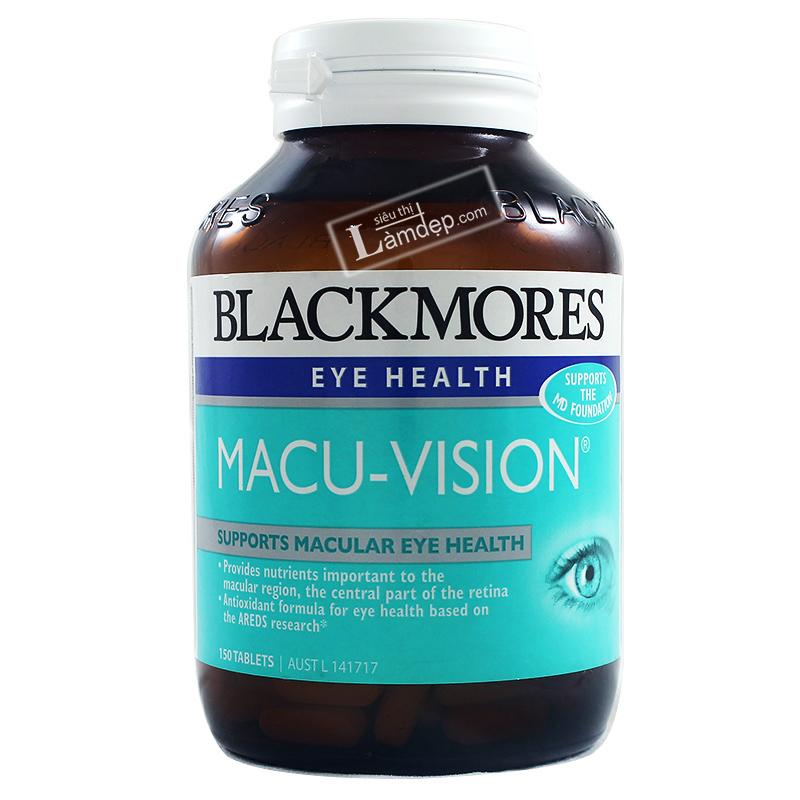 Viên Uống Bổ Mắt Blackmores Eye Health Macu Vision
